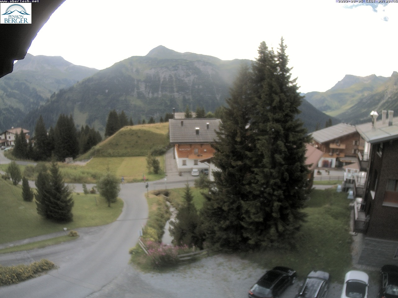 Lech Oberlech Pension Berger